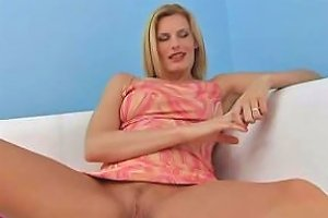 Sexy Very Horny Blonde Cougar Babe Craves Hard Fuck From Lucky Young Teen